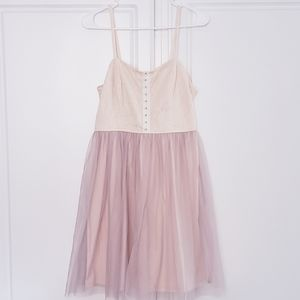XHILARATION Tulle Ballerina Dress L